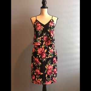 Adelyn Rae floral popover sheath dress (new)